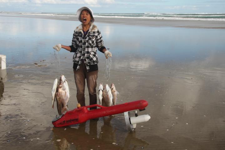 Motorised Kontiki Fishing