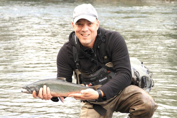 Dolly Varden from the Russian River