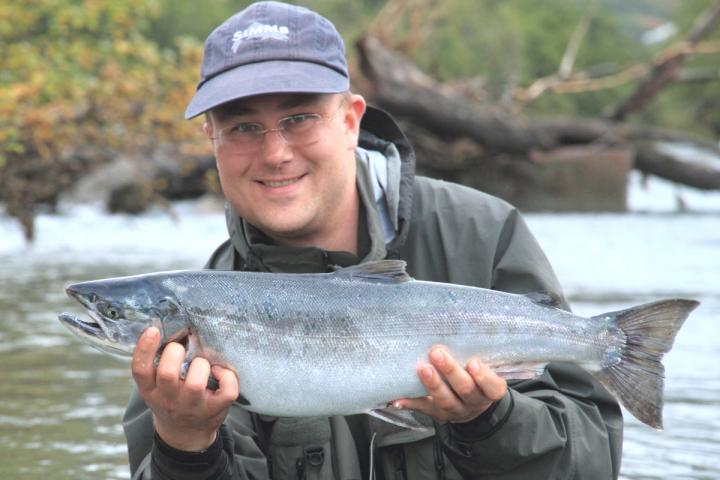 Coho from the Russian River