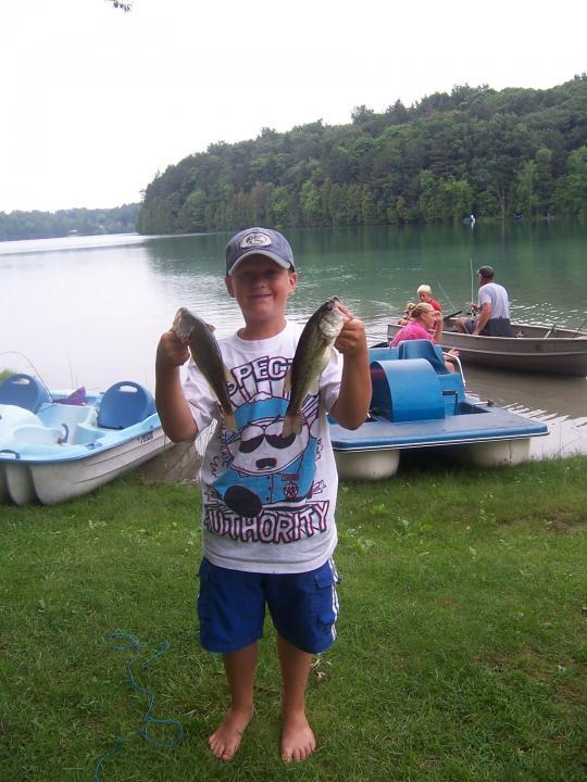 Two Tournament Winning Fish