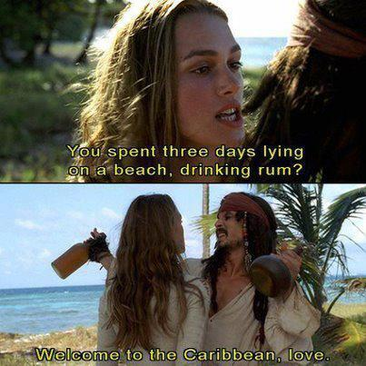 welcome to the carribbean