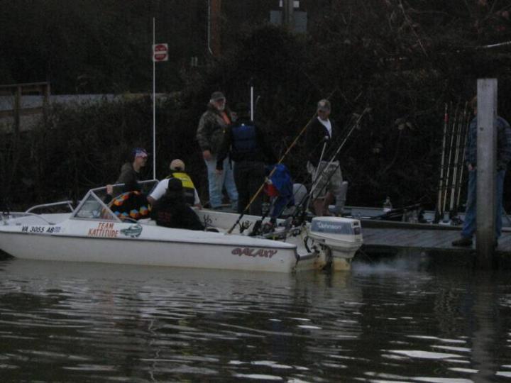 Team Kattitude Boat