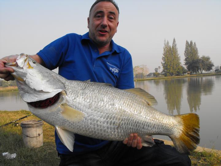 Barramundi with Thailand Fishing Guide
