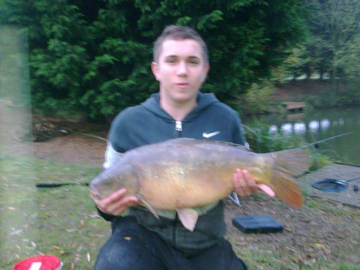 my 21 pound mirror