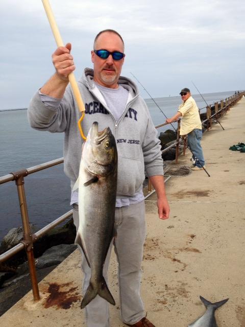 Jetty fishing in N.J.