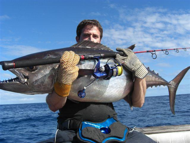 Doggie, Dogtooth Tuna in Fiji
