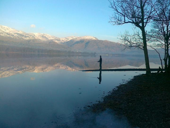 Coniston Water UK Feb 2013