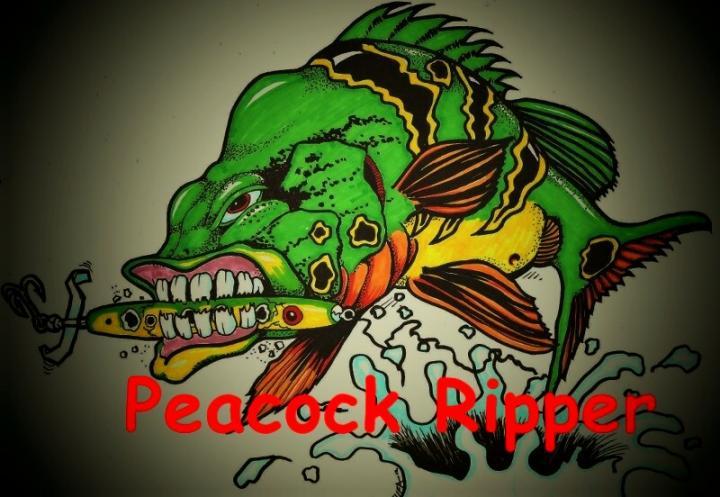 Peacock Ripper Logo