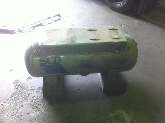 Old compressor tank