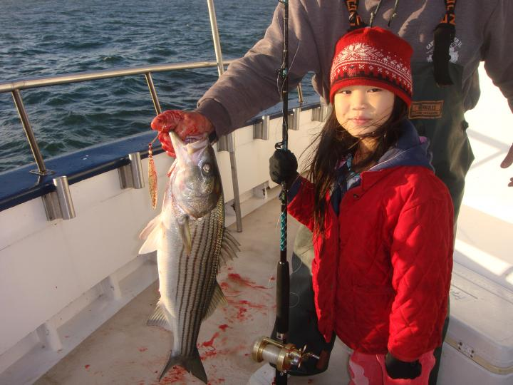 emmas first stripped bass