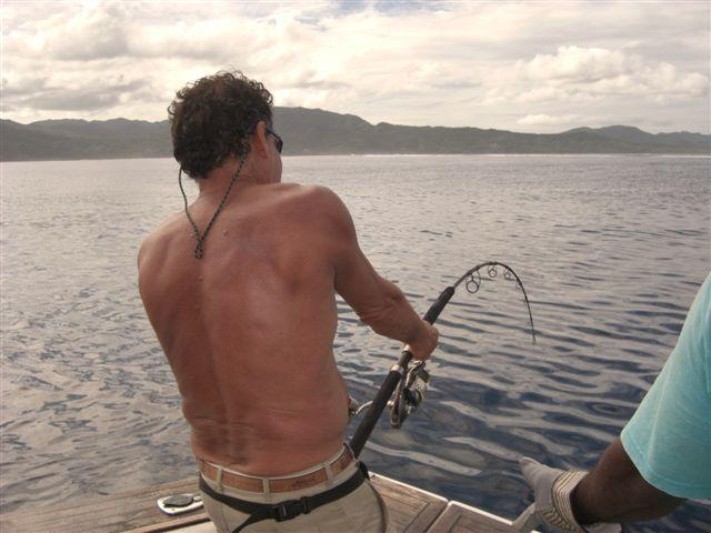 Doggie, Dogtooth Tuna in Fiji