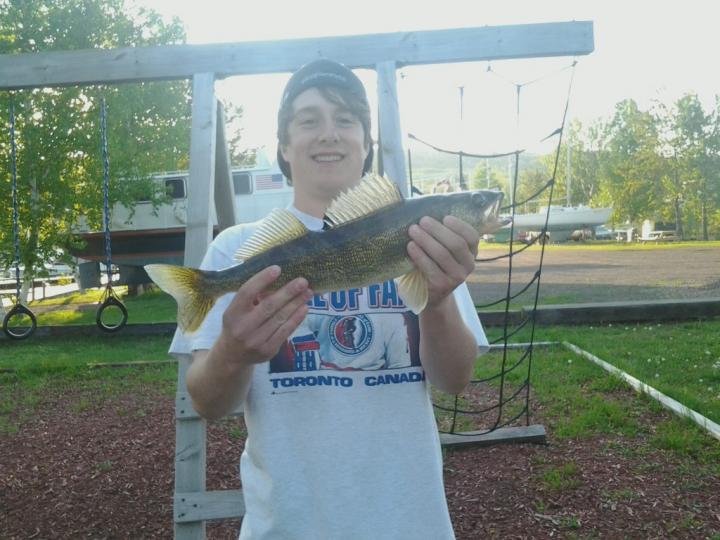 First spring walleye