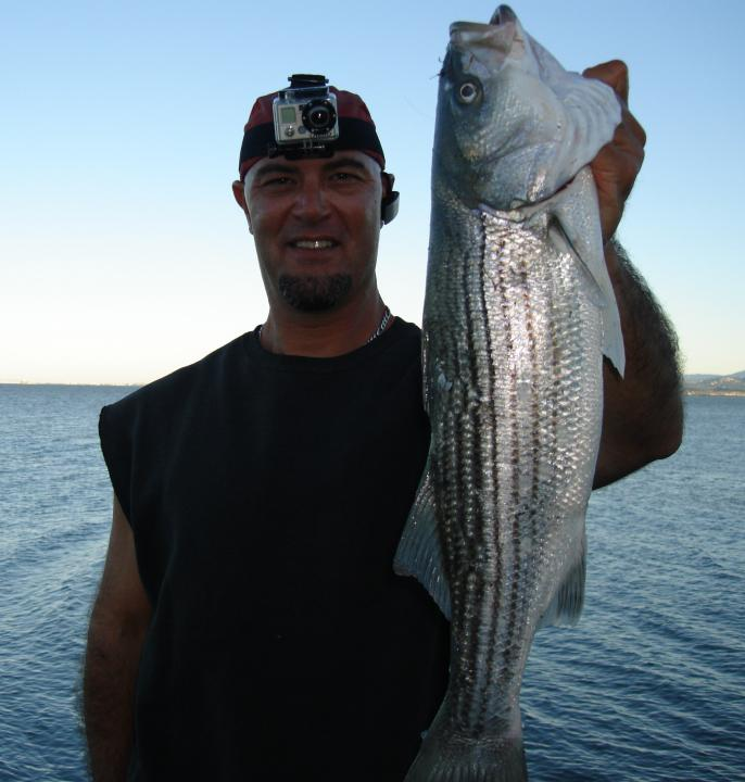 A good Day striper fishing!