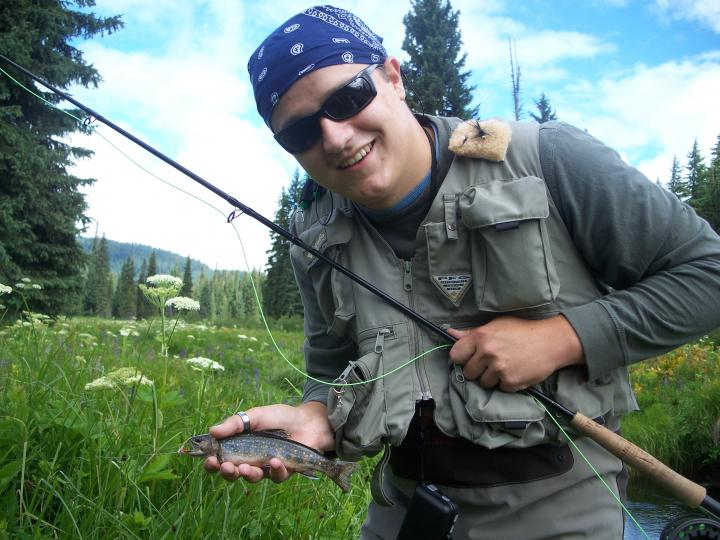 parks creek (brook trout)