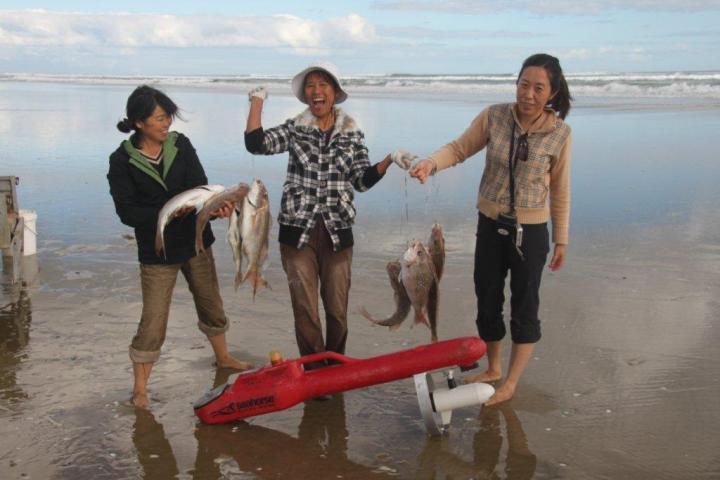 Kontiki fishing
