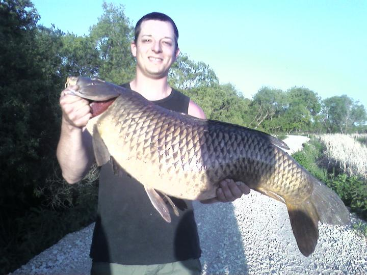 34 inch, 30 pound Monster Carp