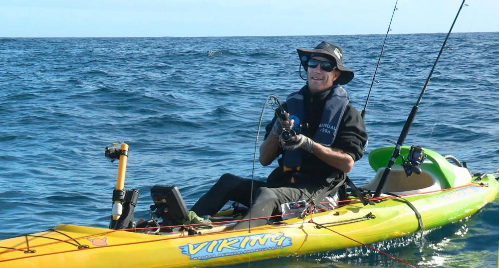 Matt Waston Kayak Fishing