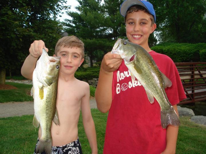 Kids fishing club