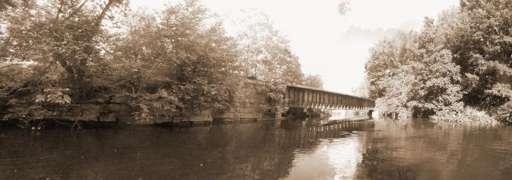 An old Railbridge Panorama